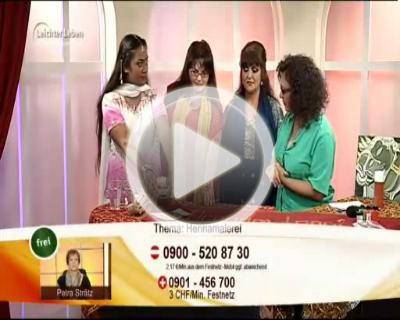*Video:ramona bhandal bei der tv-sendung