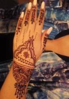 leichte Variante in Henna