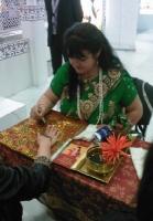 indische Hennamalkunst für Events