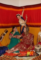 indischer Hennaabend in Tanzschule